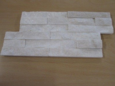 REVESTIMIENTO PIZARRA NATURAL 18X35 BLANCO ONWHITE (Espesor 1-2 cm) - CRP