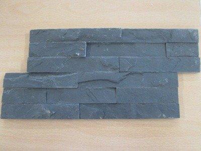 REVESTIMIENTO PIZARRA NATURAL 18X35 NEGRO ONBLACK (Espesor 1-2 cm) - CRP
